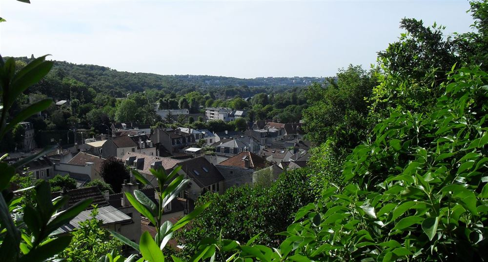 The top of Bougival