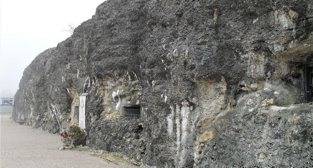 L'extérieur du fort de Douaumont