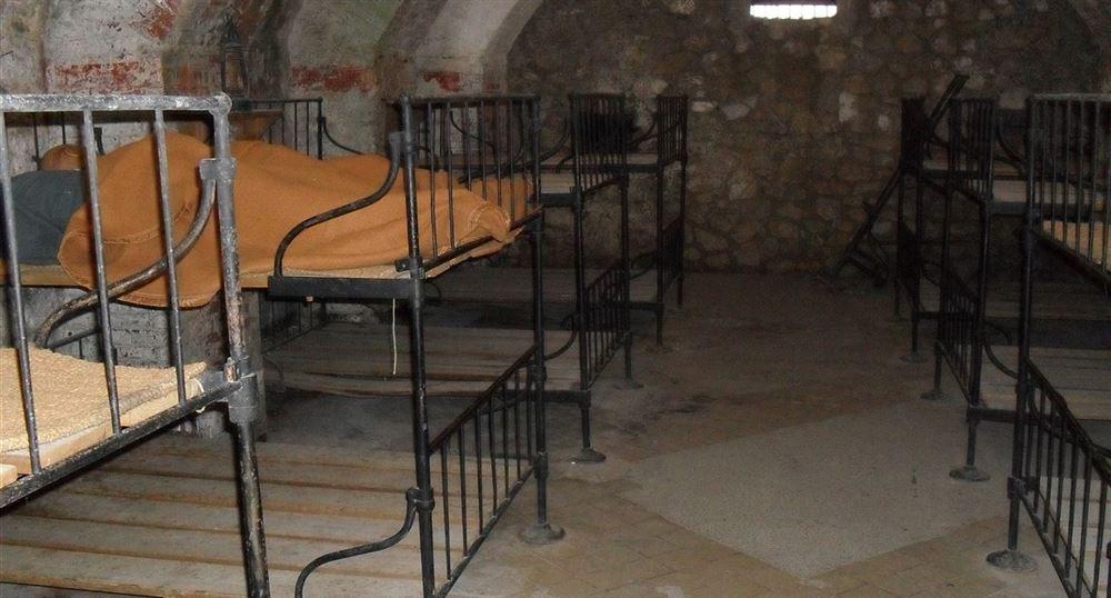 L'intérieur du fort de Vaux