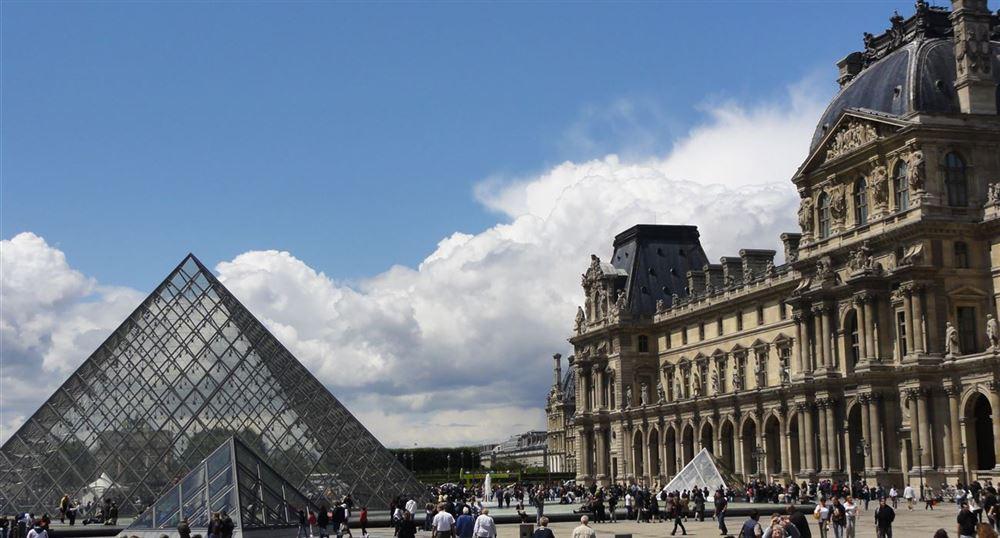 Musée du Louvre: aile Richelieu