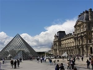 Visit of Paris: from the Centre Pompidou to the Arc de Triumphe