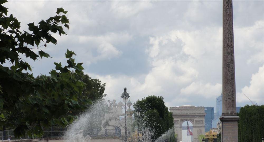 Jardin des tuileries - Place de la Concorde