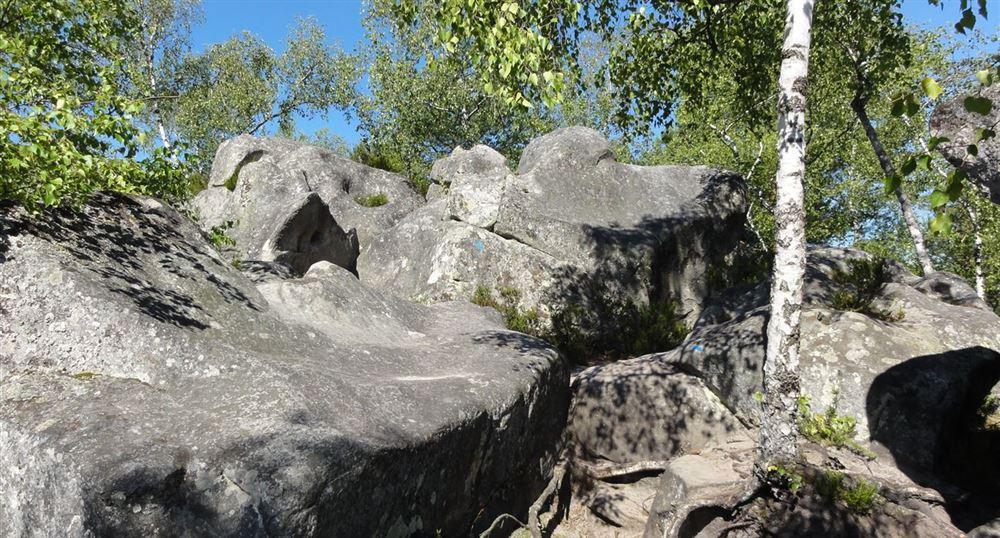 Passage entre les rochers