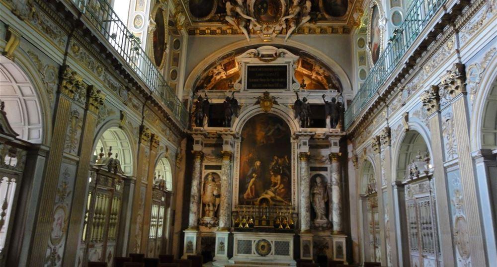The chapel of the Holy Trinity