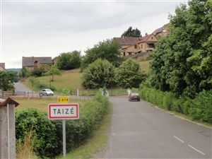The community of Taizé in Burgundy