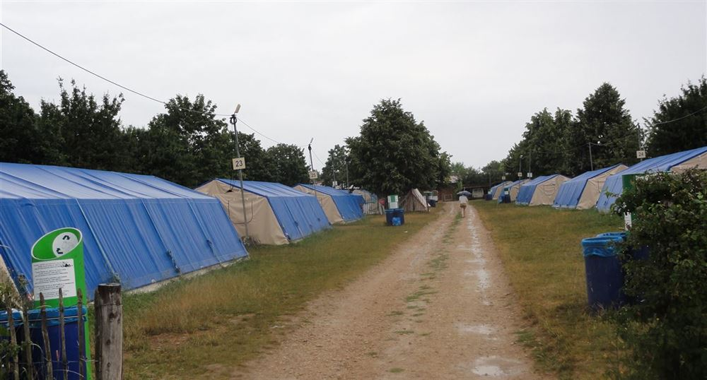 Village de tentes