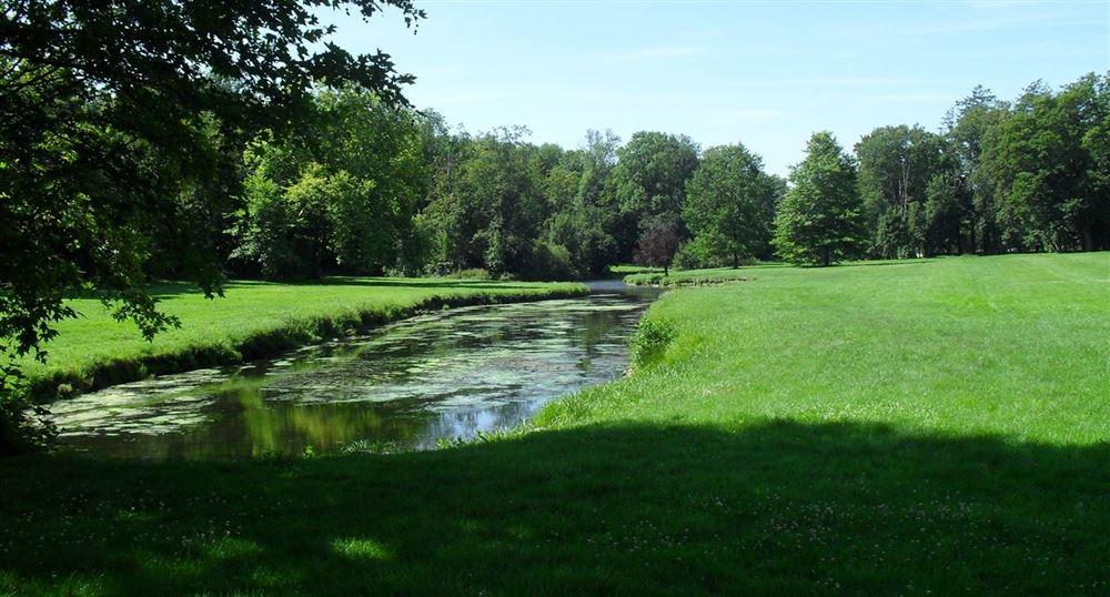 Promenade dans le parc de rambouillet for Jardin anglais en france