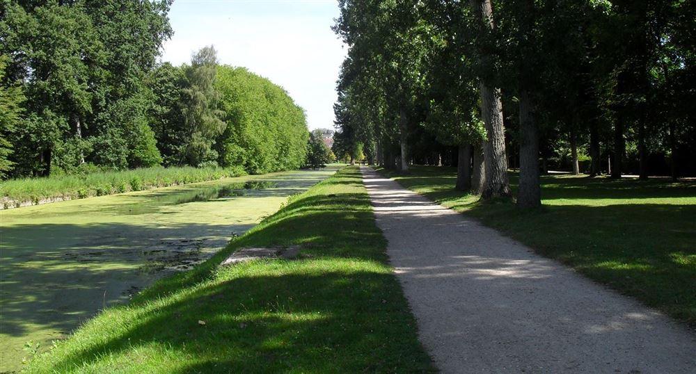 Le parcours le long du canal