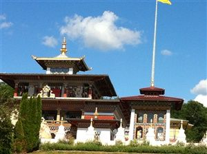 Le Temple des mille Bouddhas - Dashang Kagyu Ling