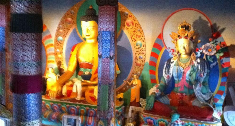 Vue intérieur du temple