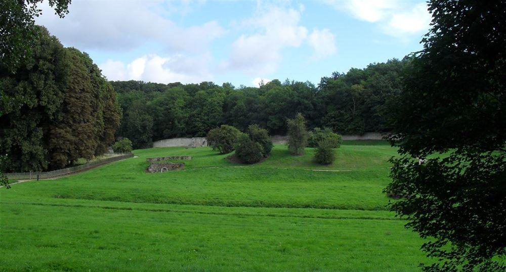 Les restes de l'abbaye