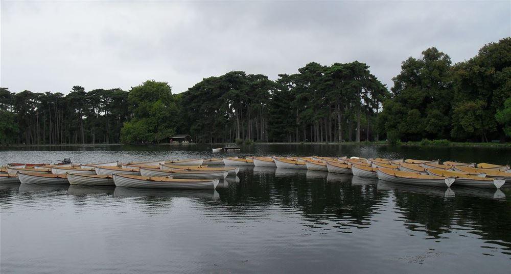 Les canots du bois de Boulogne