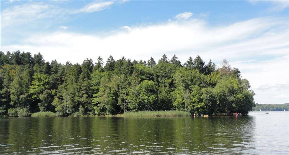 Small island in the Lake