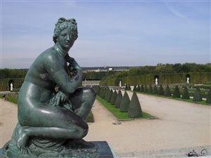Le parc de Versailles, l'Orangerie, le Bassin de Neptune