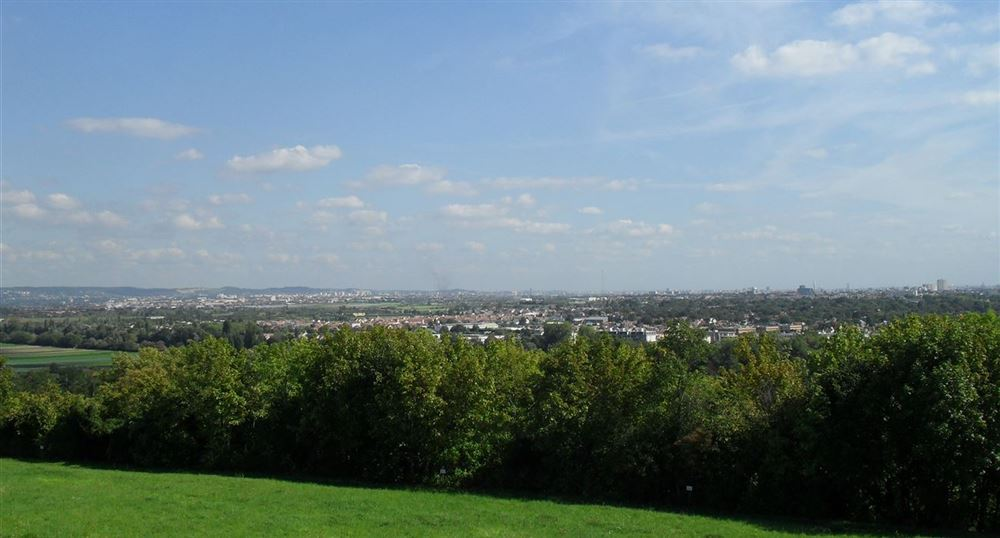 View of the Paris area