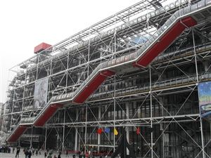 Walk in Paris: Beaubourg and Chatelet