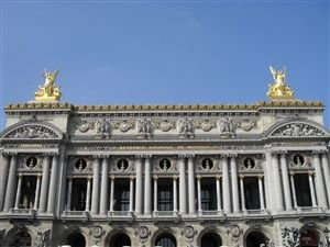 Walk between the Opera and the Madeleine in Paris