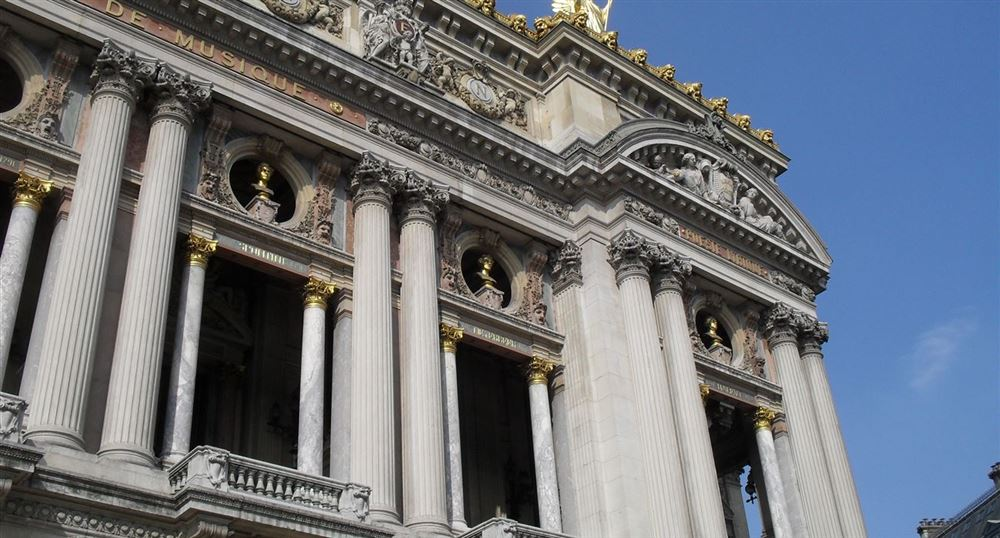 Façade of the Opera