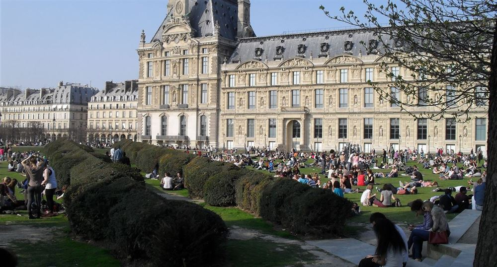 Lawn of the Tuileries