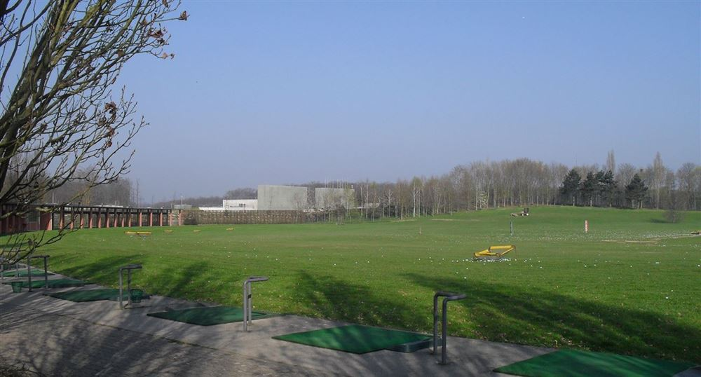 The golf driving range