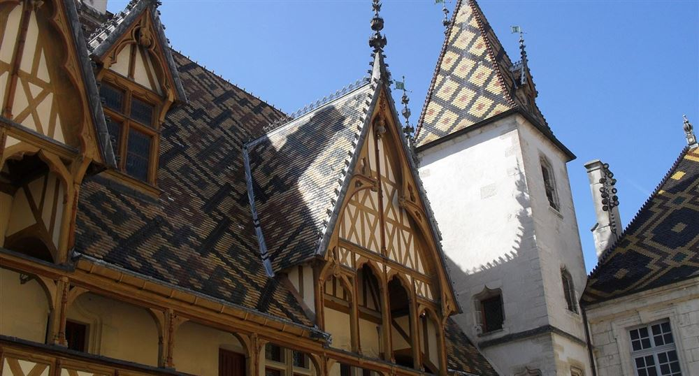 The roofs of the Hôtel-Dieu