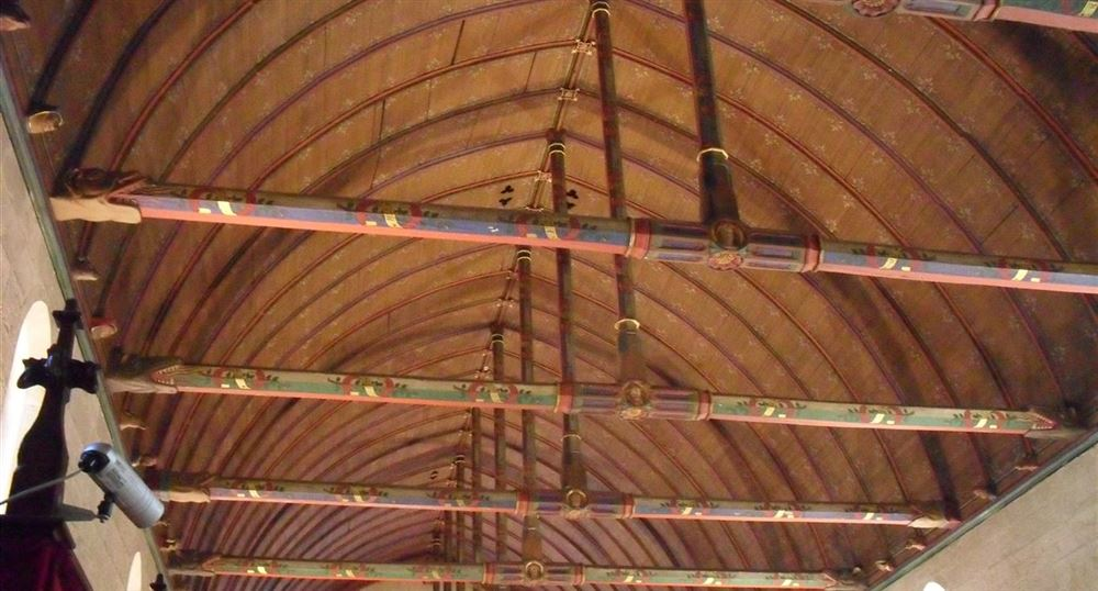 "The ceiling of the room of the ""poor"""