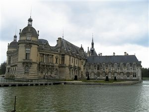 The Park and the castle of Chantilly