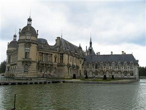 Le parc et le château de Chantilly