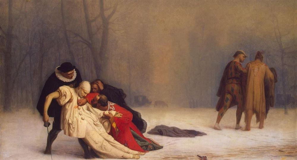 """""""Suite d'un bal masqué"""" Jean-Léon Gérôme"""