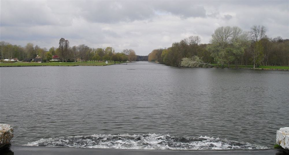 The Grand Canal and the Grand Cascade