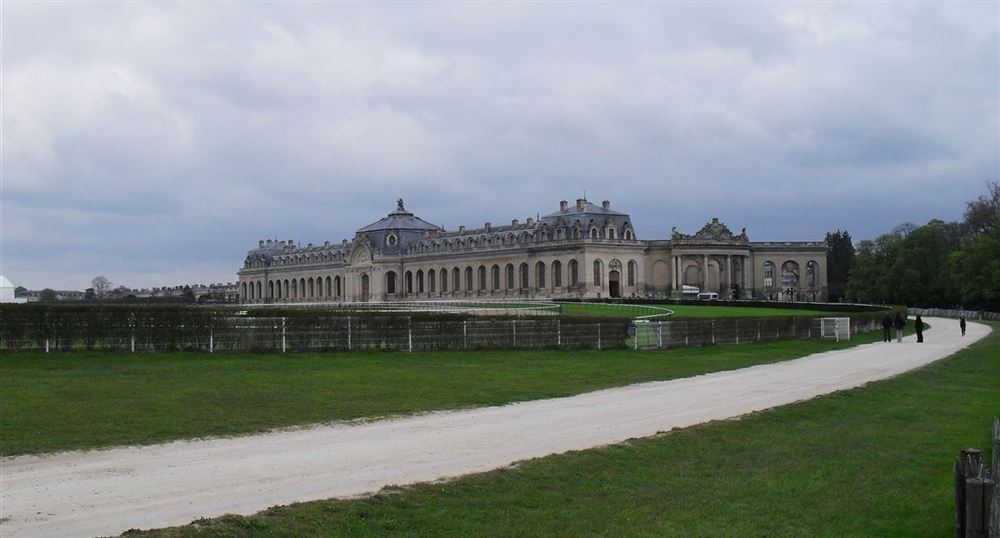 The great stables (Grandes Ecuries)