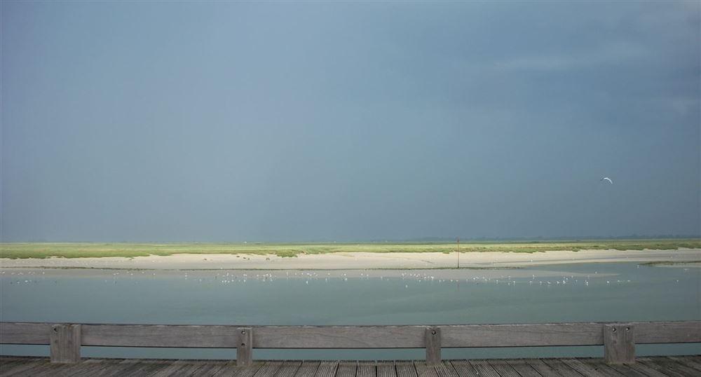 La baie après l'orage
