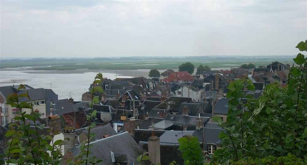 La ville vue du calvaire des marins