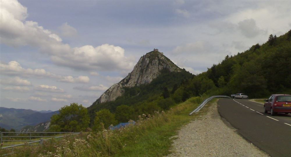 The castle of Montsegur