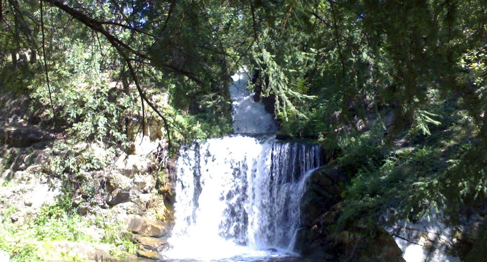 La cascade de Saint-Ferréol