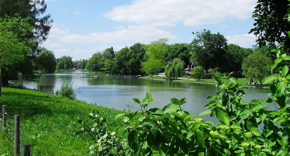 Le lac du Bois de Vincennes