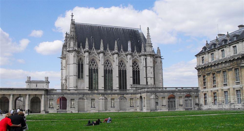 The Sainte-Chapelle of the Château of Vincennes
