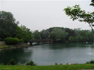 Promenade dans la base de loisirs de Cergy-Pontoise