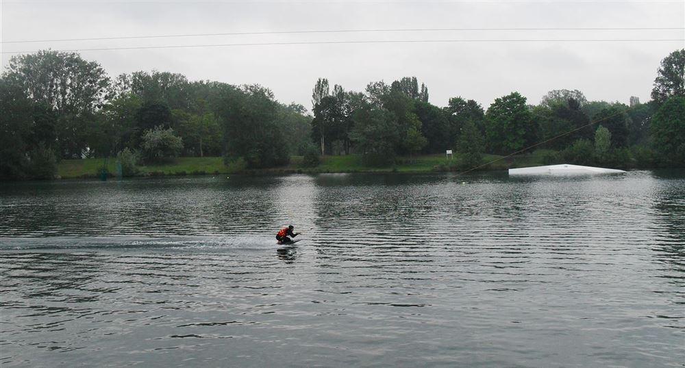 The water ski