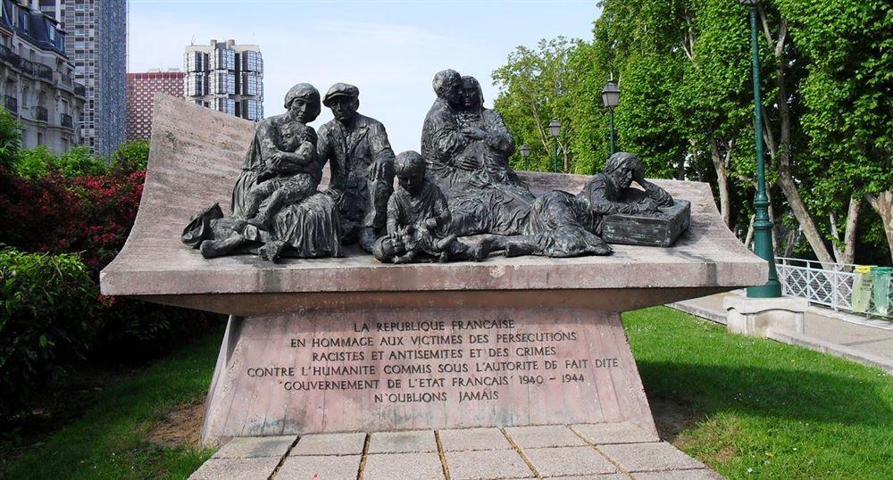 Monument commémoratif de la rafle du Vel d'hiv