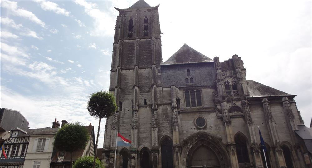 The Church of Saint-Ouen