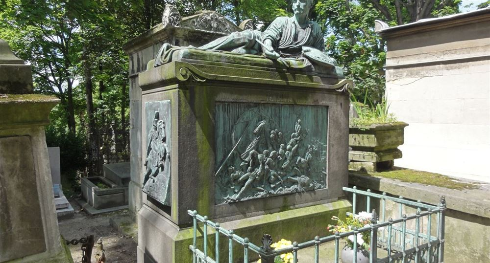 The grave of Géricault