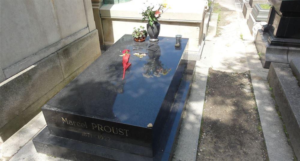 La tombe de Marcel Proust