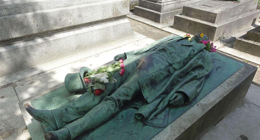 La tombe de Victor Noir