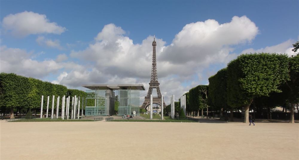 Perspective on Champ de Mars