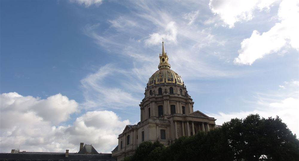 The dome of the Invalides