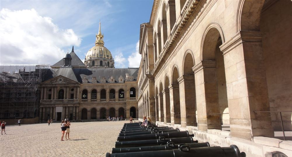 Court of the Hotel National des Invalides