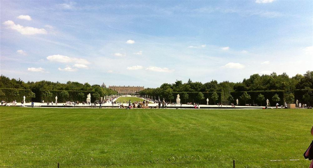 Perspective sur le parc.