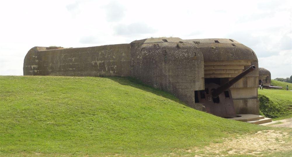 Un des quatre bunkers