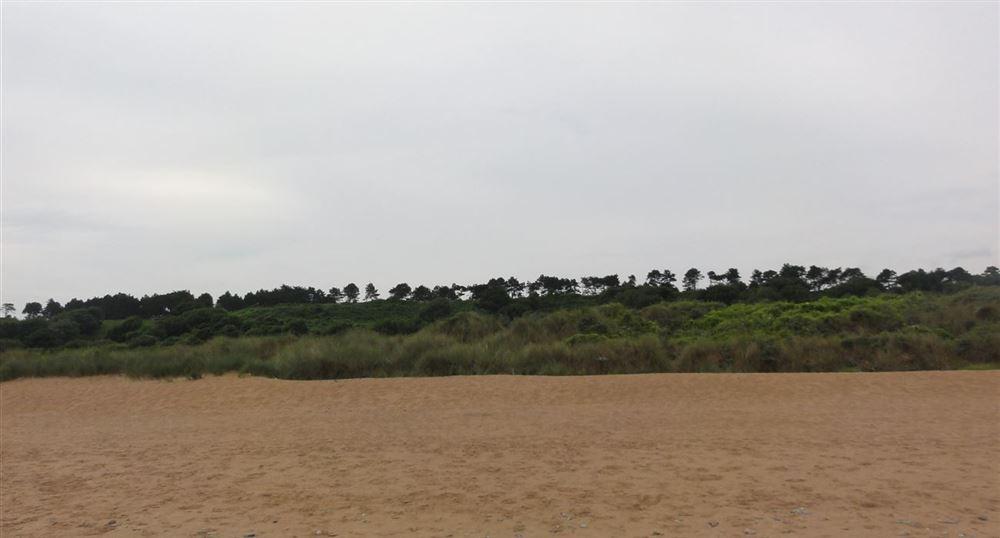 La plage à escalader